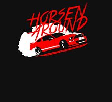 Horsen Around Mustang Unisex T-Shirt