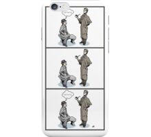 Victorian Sherlock and Watson - Love and Hate iPhone Case/Skin