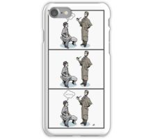 Victorian Sherlock and Watson - Love and Hate iPhone Case/Skin