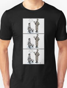 Victorian Sherlock and Watson - Love and Hate Unisex T-Shirt