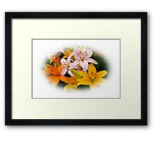 Spring Lilies ~ Ready for Planting Framed Print