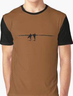 Surfers at The Pass Graphic T-Shirt
