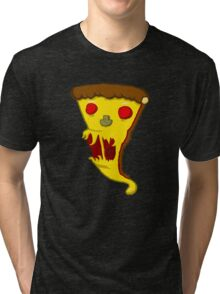 SCARY PIZZA! Tri-blend T-Shirt