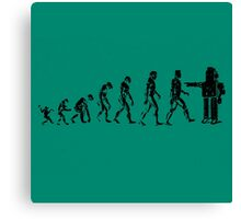 EVOLUTION SUCKS Canvas Print