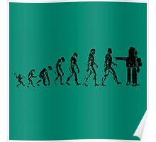 EVOLUTION SUCKS Poster