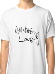 One Direction All the Love Classic T-Shirt