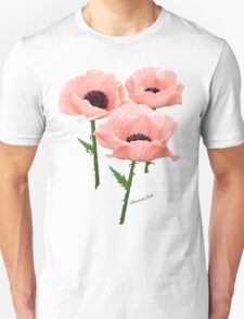 When You Say Nothing At All~ Poppies Unisex T-Shirt