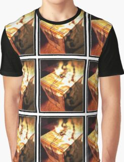 Glossy Voyage Papers Graphic T-Shirt