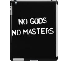 No Gods No Masters iPad Case/Skin