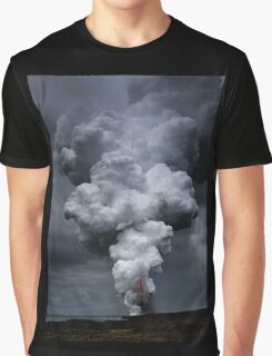 Kilauea Volcano at Kalapana 3a Graphic T-Shirt