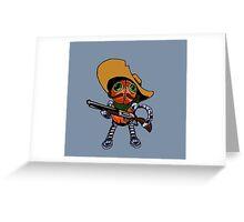 Robot Bandito Greeting Card