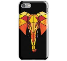 Stained Glass Elephant iPhone Case/Skin