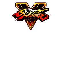Street Fighter 5 Logo Photographic Print
