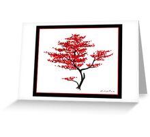 Natural Red Greeting Card
