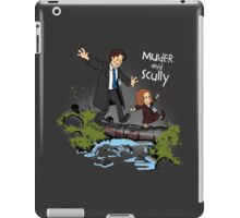 Sculvin and Hobbes iPad Case/Skin