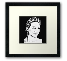 I LOVE YOU, KATE Framed Print