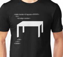 Table Unisex T-Shirt
