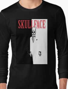 Skullface Long Sleeve T-Shirt