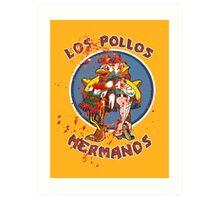 Los Pollos Hermanos (Bloodsplatter) Art Print
