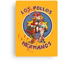 Los Pollos Hermanos (Bloodsplatter) Canvas Print