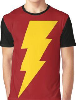 Shazam Bolt Graphic T-Shirt