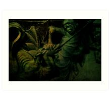 Saint George the Dragon Slayer Art Print