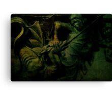 Saint George the Dragon Slayer Canvas Print