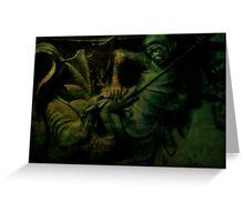 Saint George the Dragon Slayer Greeting Card