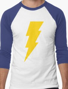 Shazam Bolt Men's Baseball ¾ T-Shirt