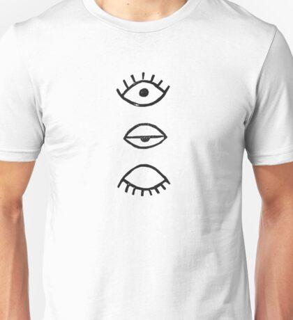 Eyes - minimalism Unisex T-Shirt
