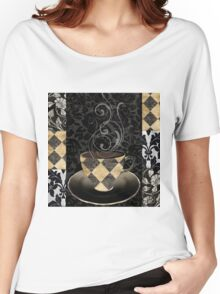 Cafe Noir Harlequin Women's Relaxed Fit T-Shirt