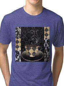 Cafe Noir Harlequin Tri-blend T-Shirt