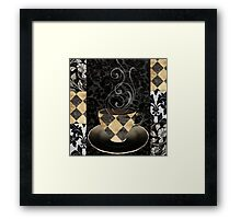 Cafe Noir Harlequin Framed Print