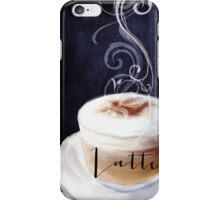 Cafe Blue Latte iPhone Case/Skin