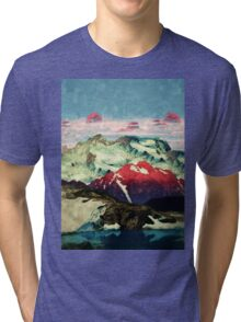 Winter in Keiisino Tri-blend T-Shirt