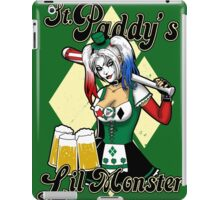 Saint Paddy's Lil Monster  iPad Case/Skin