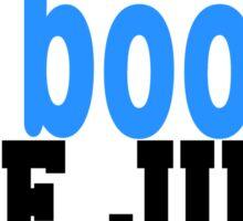 Boys in books Sticker