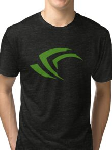 old vintage nvidia geforce Tri-blend T-Shirt