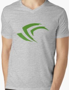 old vintage nvidia geforce Mens V-Neck T-Shirt
