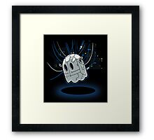 Ghost in the Puck Framed Print