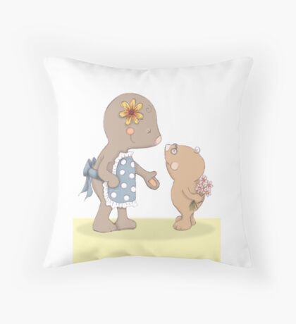 For Mum...because I love you Throw Pillow