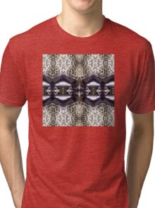 Oyster and Coral Tri-blend T-Shirt