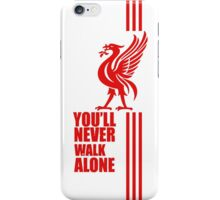 white red liverpool iPhone Case/Skin