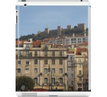 Lisbon, Fort at top iPad Case/Skin