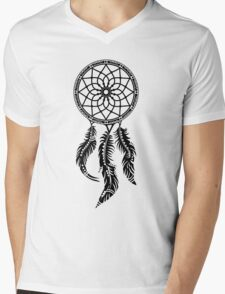 Dream Catcher, Native American Indians, Protection Mens V-Neck T-Shirt