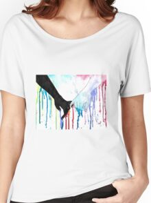 Love Sees No Color Women's Relaxed Fit T-Shirt