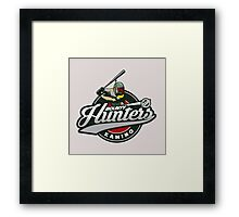 Bounty Hunters baseball  Framed Print