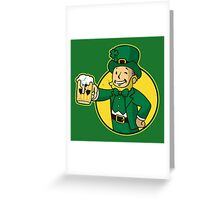 Irish Boy Greeting Card