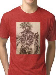 Broken Raiden Tri-blend T-Shirt