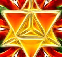 Merkaba, Flower Of Life, Metatrons Cube, Sacred Geometry Sticker